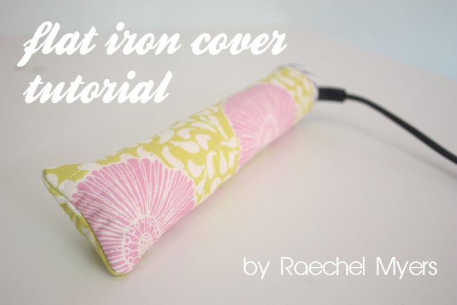 Flat Iron Cover Tutorial